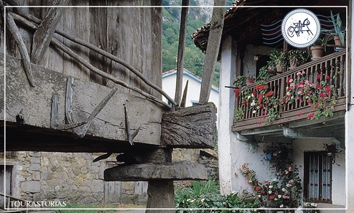 Los pueblos con más hórreos de Asturias