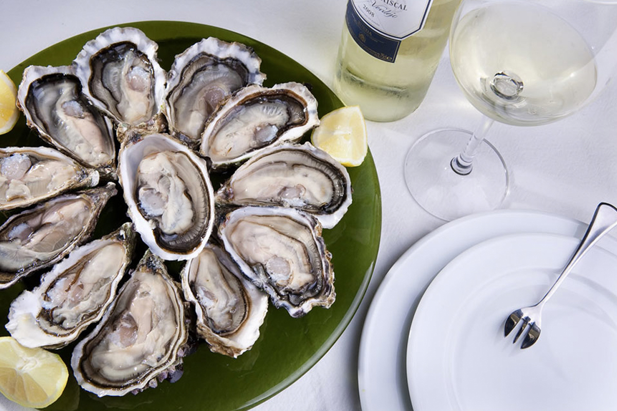 Degustación de ostras en Asturias
